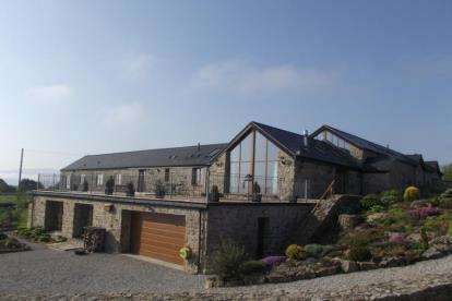 4 Bedrooms Barn Conversion Character Property for sale in Llangoed, Beaumaris, Sir Ynys Mon, LL58
