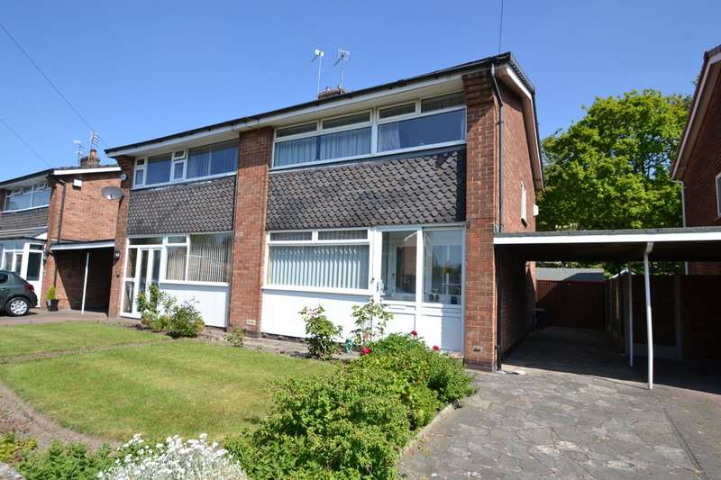 3 Bedrooms Semi Detached House for sale in Saville Road, Gatley