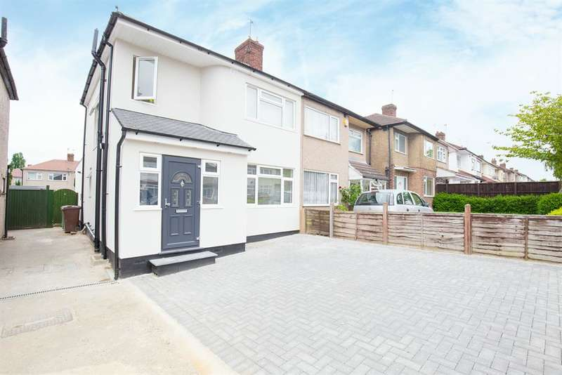 3 Bedrooms Semi Detached House for sale in Holyrood Avenue, Harrow, Middlesex, HA2 8UD