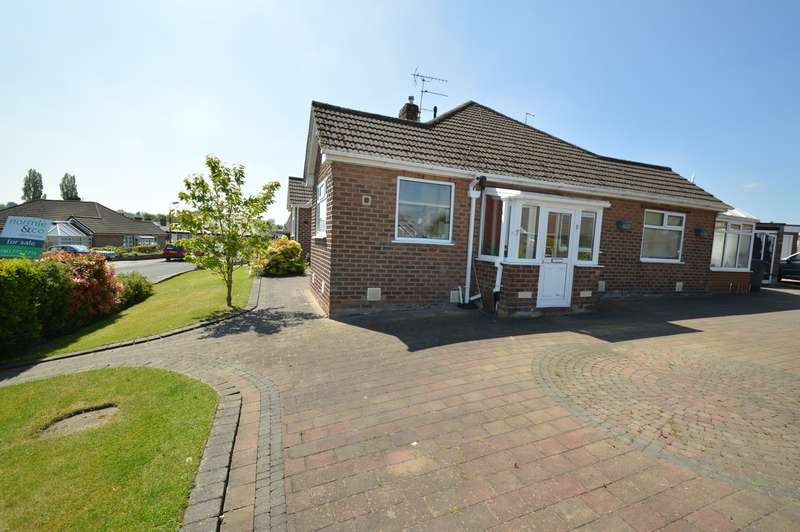 2 Bedrooms Semi Detached Bungalow for sale in Sandy Close, Bury, BL9