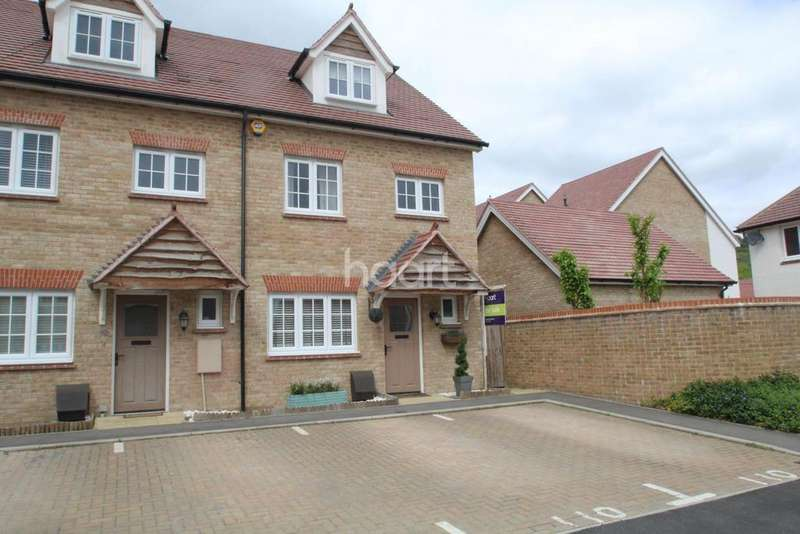 4 Bedrooms End Of Terrace House for sale in Jackdaw Way, Halling, Rochester