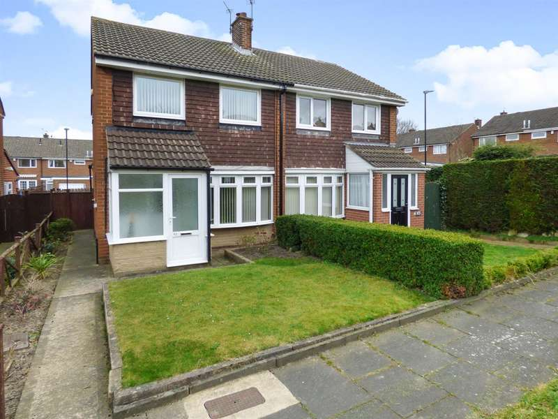 2 Bedrooms Semi Detached House for sale in Moorsfield, Houghton le Spring
