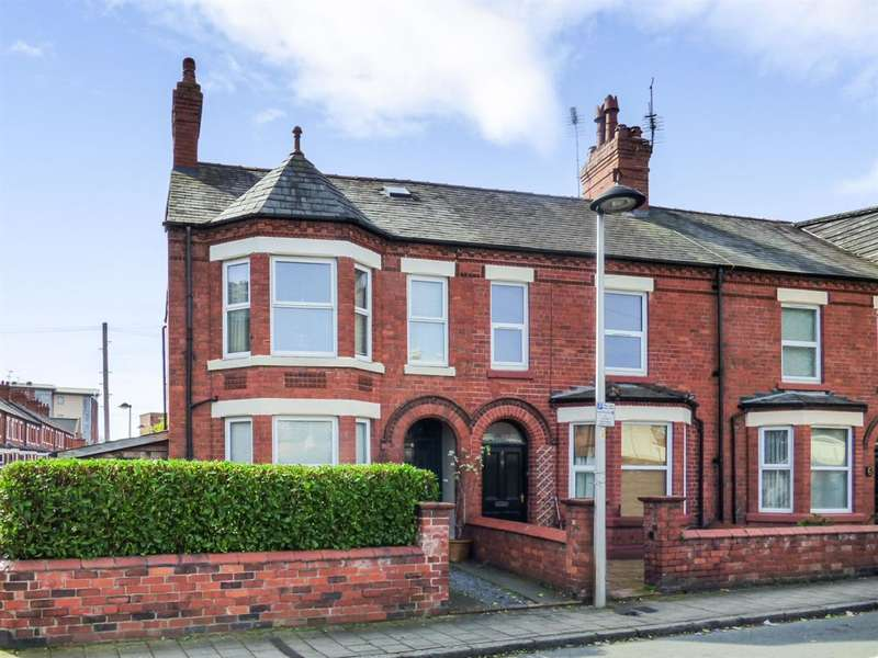 3 Bedrooms End Of Terrace House for sale in Queens Road, Chester