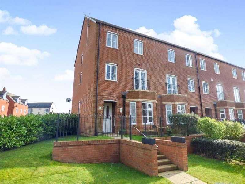 3 Bedrooms Town House for sale in Melrose Walk, Tewkesbury