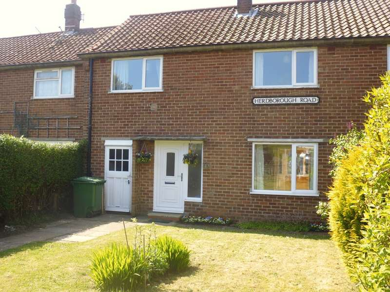 3 Bedrooms Terraced House for sale in Herdborough Road, Scarborough, YO11