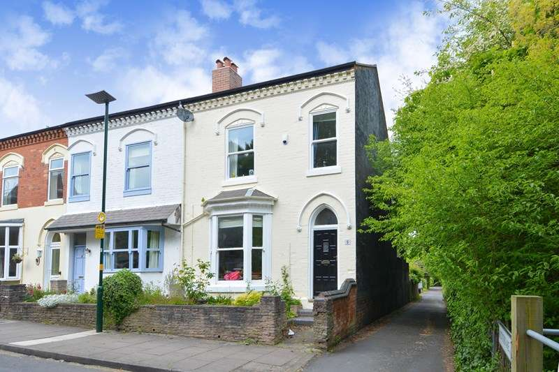 4 Bedrooms End Of Terrace House for sale in Percival Road, Edgbaston