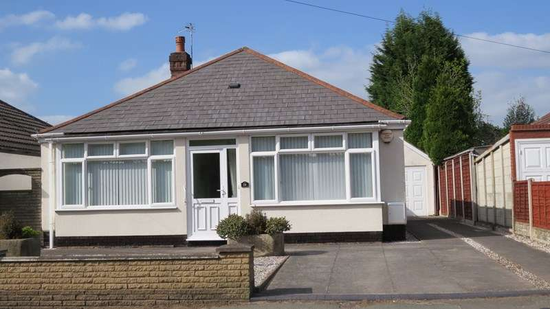 2 Bedrooms Detached Bungalow for sale in Langley Road, Merry Hill, Wolverhampton
