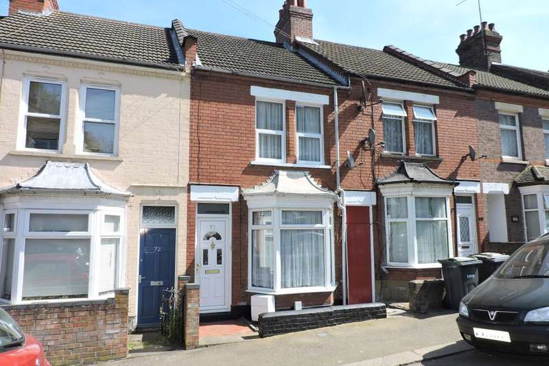 2 Bedrooms Terraced House for sale in Russell Rise, Luton, Bedfordshire, LU1 5EX