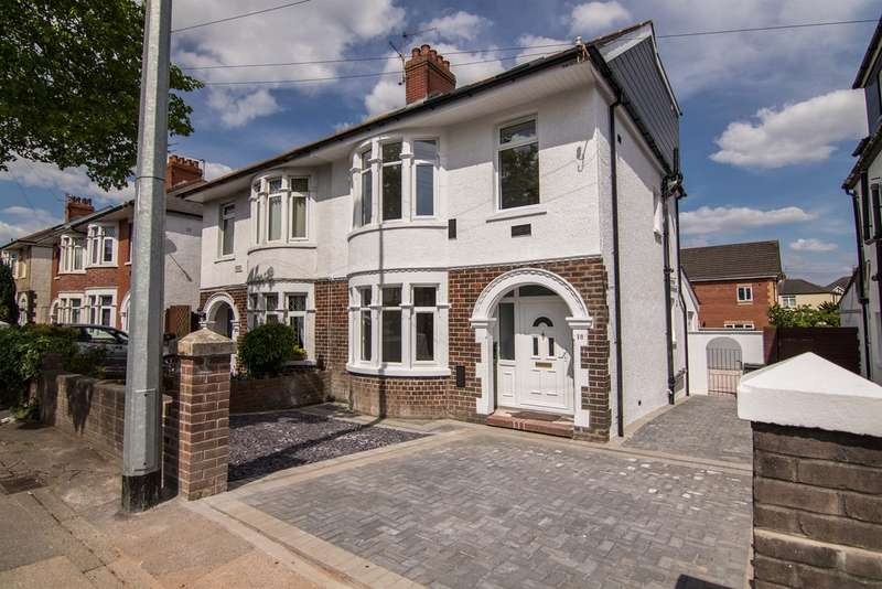 5 Bedrooms Semi Detached House for sale in Manor Way, Whitchurch, Cardiff