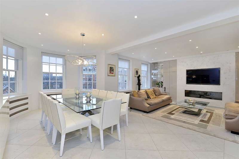 4 Bedrooms Flat for sale in South Lodge, London, NW8