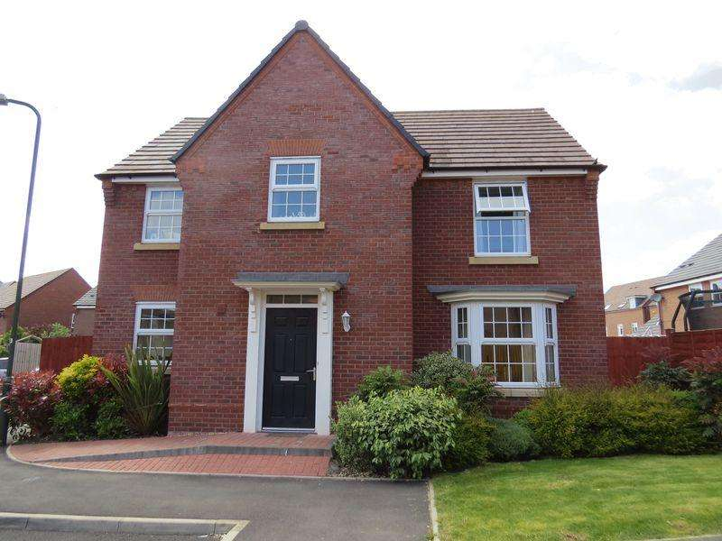 4 Bedrooms House for sale in Spruce Drive, Spring Gardens, Shrewsbury, SY1 2UX