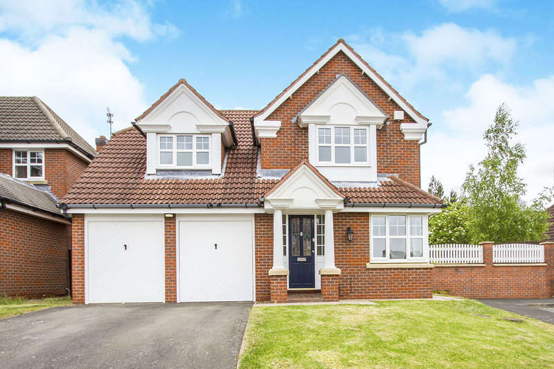 4 Bedrooms Detached House for sale in Golding Close, Loughborough, LE11
