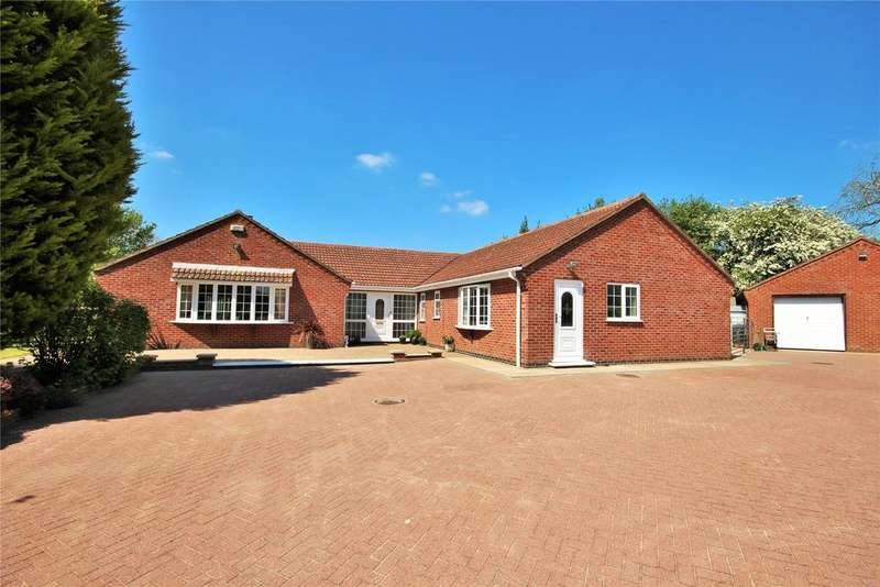 5 Bedrooms Detached Bungalow for sale in Elder Tree Way, Horsington, LN10