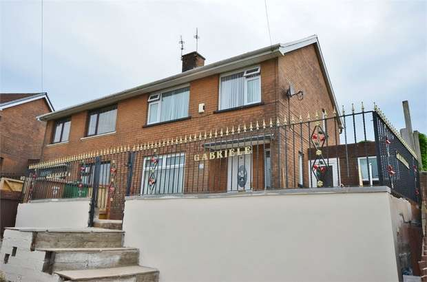 3 Bedrooms Semi Detached House for sale in Heol Fawr, CAERPHILLY