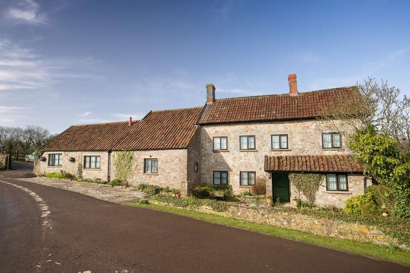 4 Bedrooms Detached House for sale in Stoke St Michael, Somerset