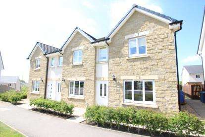 3 Bedrooms End Of Terrace House for sale in Willow Court, Stewarton, East Ayrshire