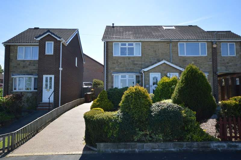 2 Bedrooms Semi Detached House for sale in Julie Avenue, Durkar, Wakefield