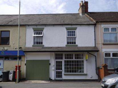 4 Bedrooms Terraced House for sale in Whitehill Road, Ellistown, Coalville, Leicestershire