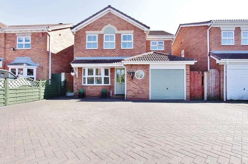 4 Bedrooms Detached House for sale in Newport, Amington Fields