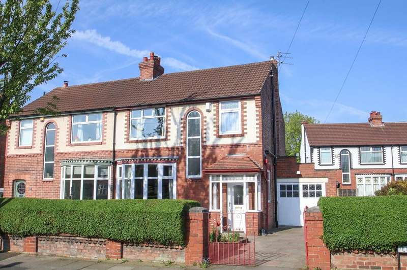 3 Bedrooms Semi Detached House for sale in Lodge Avenue, Urmston, Manchester, M41