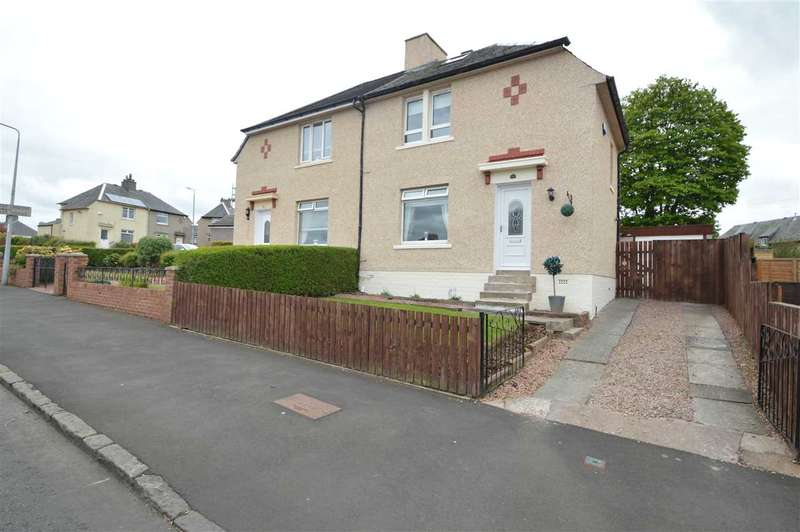 2 Bedrooms Semi Detached House for sale in Eliot Crescent, Hamilton