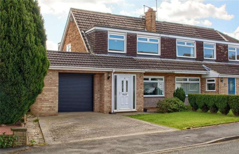 3 Bedrooms Semi Detached House for sale in Osprey Close, Guisborough
