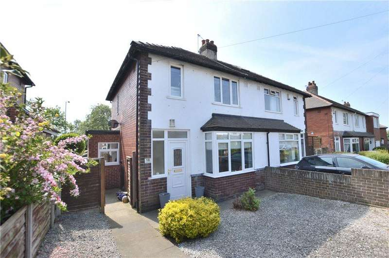 3 Bedrooms Semi Detached House for sale in Whitehall Crescent, Wakefield, West Yorkshire