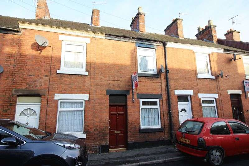 2 Bedrooms Terraced House for sale in Grosvenor Street, Leek, Staffordshire ST13