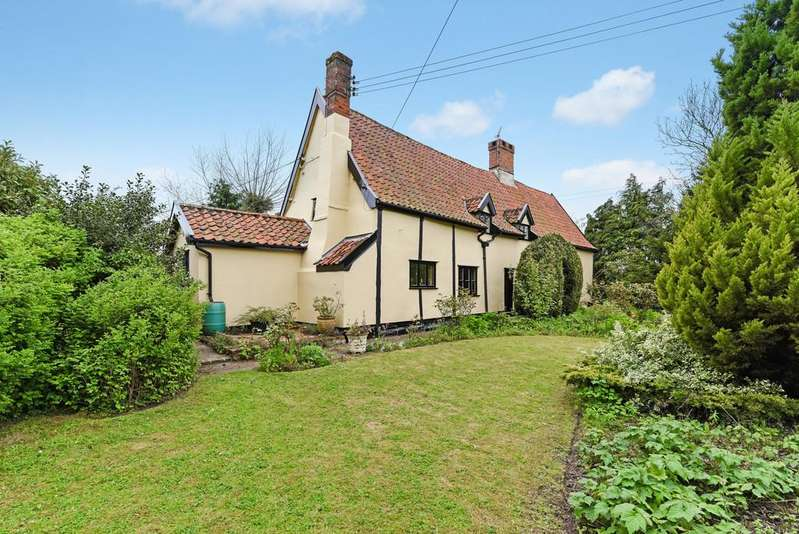 3 Bedrooms Detached House for sale in Laxfield, Nr Framlingham, Suffolk