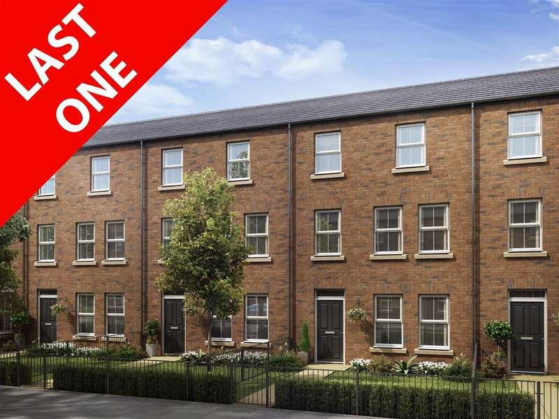 4 Bedrooms Town House for sale in Lansdowne Terrace East, Gosforth, Newcastle Upon Tyne