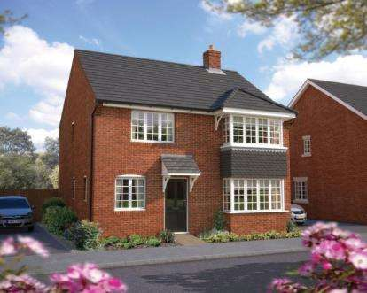 4 Bedrooms Detached House for sale in Plot 9, Honeybourne, Evesham