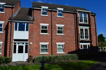 2 Bedrooms Flat for sale in The Maltings, Off Chesterfield Road, Lichfield, Staffordshire