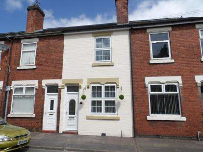 2 Bedrooms Terraced House for sale in Windsmoor Street, Stoke-on-Trent, Staffordshire
