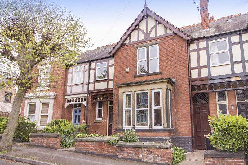 5 Bedrooms Terraced House for sale in VICARAGE AVENUE, DERBY