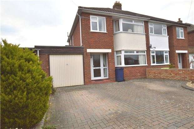 3 Bedrooms Semi Detached House for sale in Orchard Road, Bishops Cleeve, CHELTENHAM, Gloucestershire, GL52 8LX