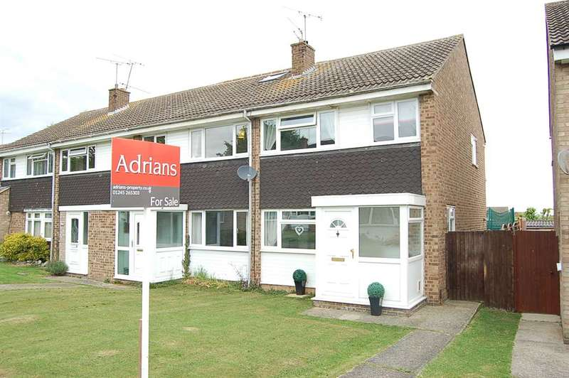3 Bedrooms House for sale in Hawfinch Walk, Chelmsford