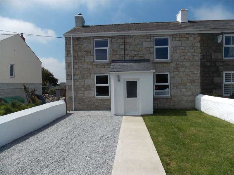 4 Bedrooms End Of Terrace House for sale in Loscombe Road, Four Lanes, Redruth