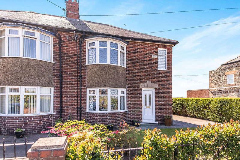 3 Bedrooms Semi Detached House for sale in Ramsdale Kingsley Villas, Ryton, NE40