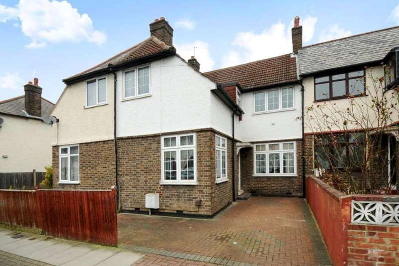 3 Bedrooms Terraced House for sale in Topsham Road, Tooting, London, SW17 8SP