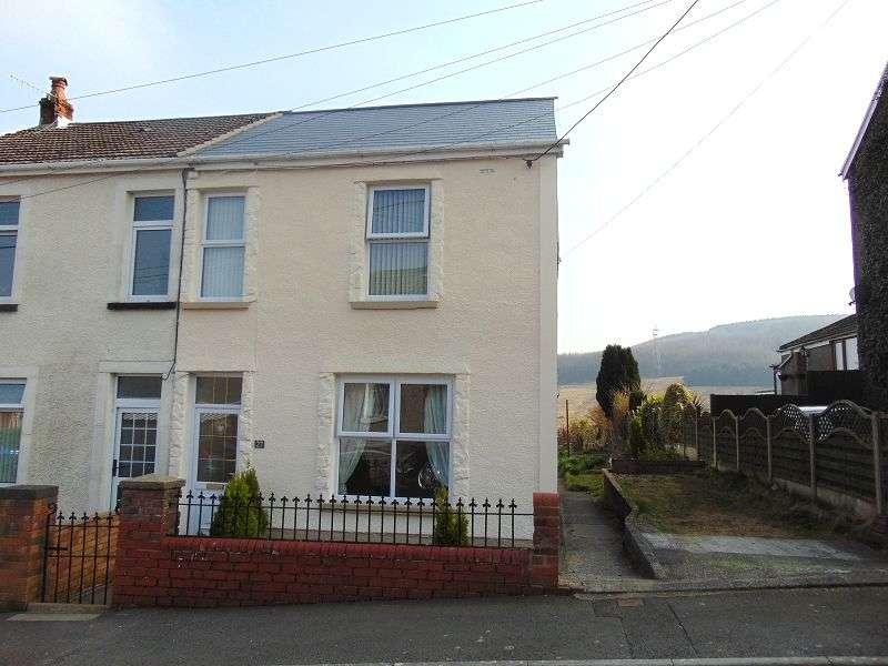 3 Bedrooms Semi Detached House for sale in School Road, Dyffryn Cellwen, Neath, Neath Port Talbot. SA10