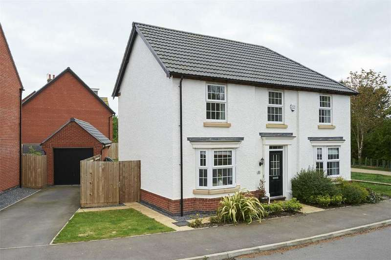 4 Bedrooms Detached House for sale in Measham Close, Market Harborough, Leicestershire