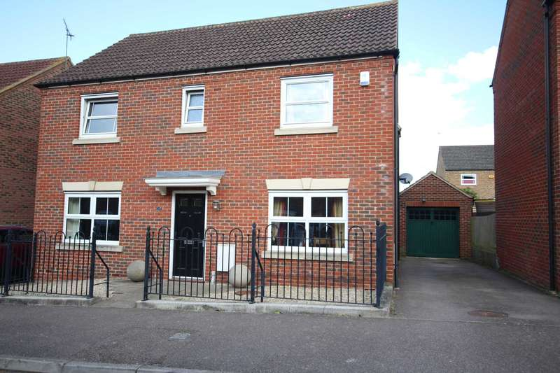 4 Bedrooms Detached House for sale in Cavendish Way, Fairford Leys