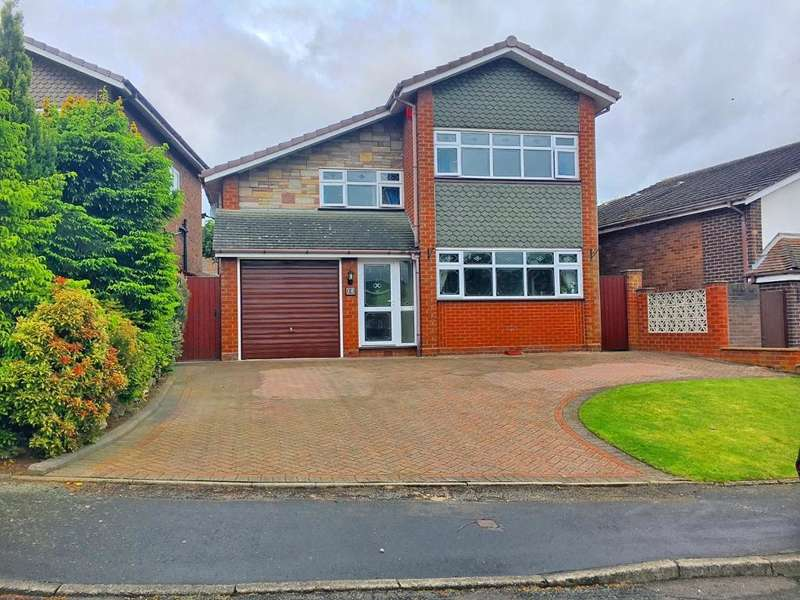 4 Bedrooms Detached House for sale in COTTESMORE CLOSE, WEST BROMWICH, WEST MIDLANDS, B71 3SB
