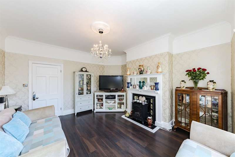 2 Bedrooms Ground Flat for sale in Broadwater Road, Worthing, West Sussex, BN14 8AE