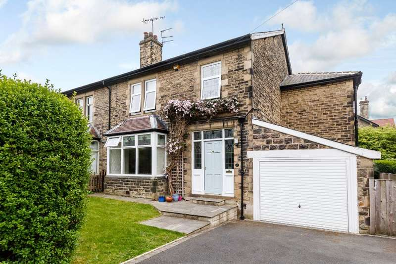4 Bedrooms Semi Detached House for sale in Bankfield Drive, Shipley, West Yorkshire, BD18 4AD