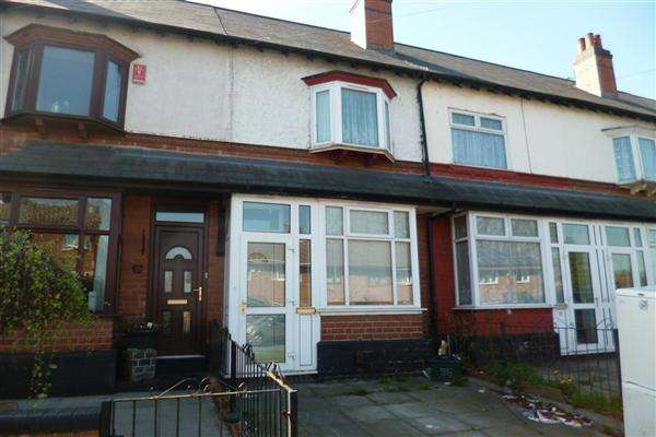 2 Bedrooms Terraced House for sale in Wood Lane, Handsworth, Birmingham
