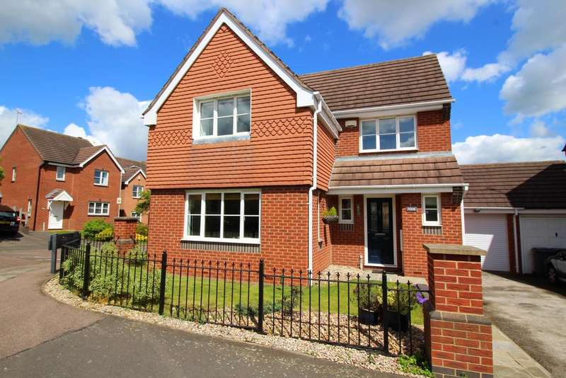 4 Bedrooms Detached House for sale in Kestrel Drive, Bingham NG13