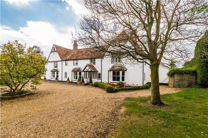 5 Bedrooms Detached House for sale in The Manor House, Great Gransden, Cambridge