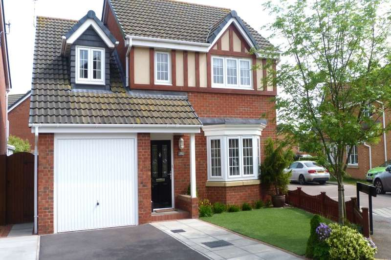 4 Bedrooms Detached House for sale in Claudius Road, North Hykeham, Lincoln, LN6