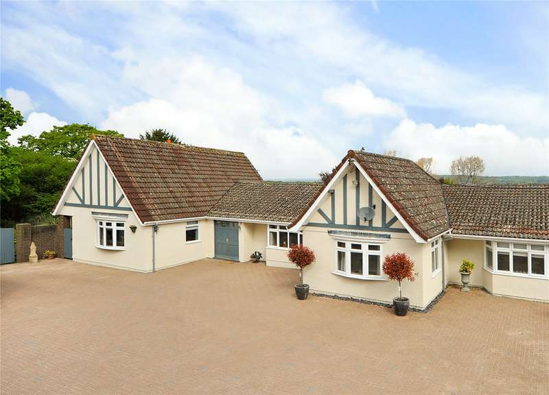 4 Bedrooms Detached Bungalow for sale in Dundry Lane, Dundry, Bristol, Somerset, BS41
